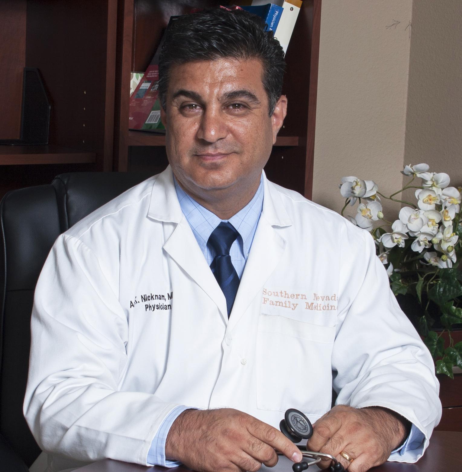 Dr. Amir Nicknam